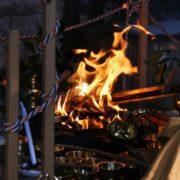 護摩祈祷の写真
