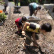 土砂の片ずけボランティア
