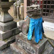狛犬の衣装