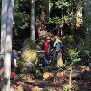 森林ボランティアという山びと